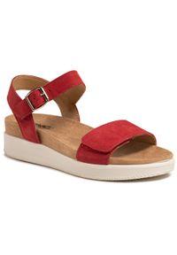 Czerwone sandały Imac