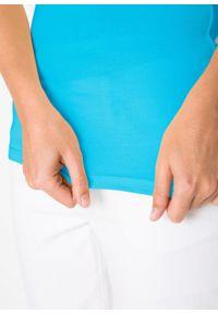 Żółty top bonprix na ramiączkach
