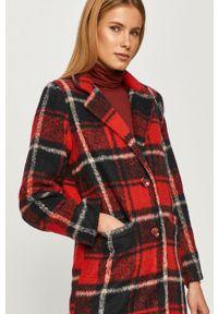 Czerwony płaszcz Haily's bez kaptura, klasyczny