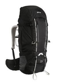 Vango plecak trekkingowy Sherpa 60:70 Shadow Black. Kolor: czarny. Wzór: napisy