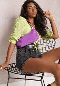 Renee - Czarne Szorty Echileia. Stan: podwyższony. Kolor: czarny. Materiał: jeans