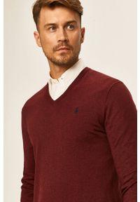 Brązowy sweter Polo Ralph Lauren z aplikacjami, polo
