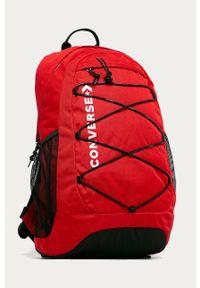 Czerwony plecak Converse z nadrukiem