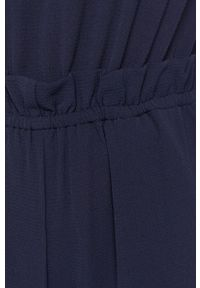 Niebieski kombinezon Pepe Jeans casualowy, z krótkim rękawem, na co dzień