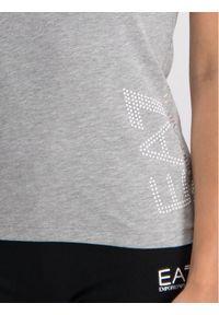 EA7 Emporio Armani T-Shirt 3GTT15 TJ12Z 3905 Szary Regular Fit. Kolor: szary