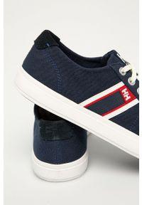 Helly Hansen - Tenisówki Salt Flag F1. Nosek buta: okrągły. Zapięcie: sznurówki. Kolor: niebieski. Materiał: materiał, guma