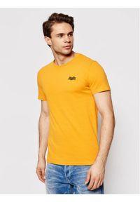 Żółty t-shirt Superdry vintage