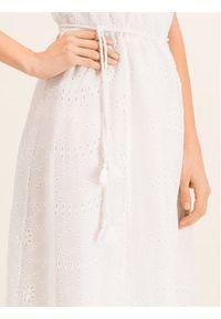 Biała sukienka letnia Pinko