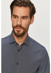 Niebieska koszula Tommy Hilfiger Tailored długa, elegancka