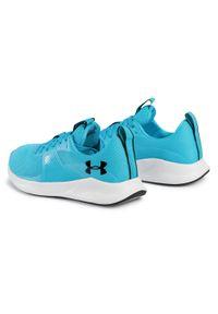 Niebieskie buty do biegania Under Armour z cholewką