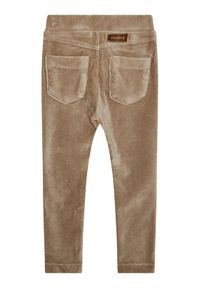 Mayoral Spodnie materiałowe 714 Brązowy Regular Fit. Kolor: brązowy. Materiał: materiał #4