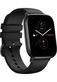 AMAZFIT - Smartwatch Amazfit Zepp E Square Czarny (xiaomi_20201027123216). Rodzaj zegarka: smartwatch. Kolor: czarny