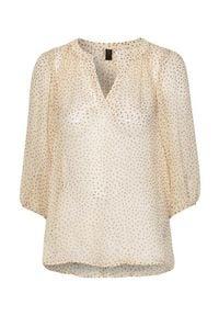 Soyaconcept Bluzka z wiskozy Ophelia Kremowy female biały XL (44). Kolor: biały. Materiał: wiskoza. Wzór: aplikacja. Styl: elegancki