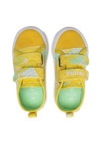 Reima - Tenisówki REIMA - Metka 569347 Yellow 2335. Zapięcie: rzepy. Kolor: żółty. Materiał: materiał. Szerokość cholewki: normalna