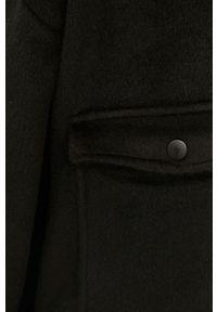 Answear Lab - Koszula. Kolor: czarny. Materiał: tkanina. Wzór: gładki. Styl: wakacyjny