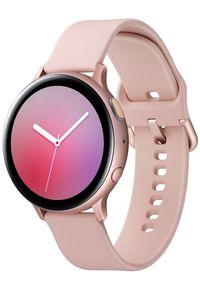Złoty zegarek SAMSUNG sportowy, smartwatch