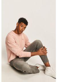 Szare jeansy Levi's® biznesowe, w kolorowe wzory, na co dzień
