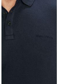 Niebieska koszulka z długim rękawem Marc O'Polo polo