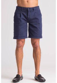Niebieskie szorty Trussardi Jeans