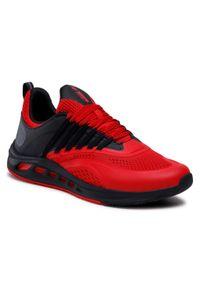 Czerwone buty do biegania 4f