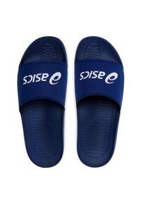 Asics - Klapki ASICS - AS003 1173A006 Indigo Blue/White. Okazja: na co dzień. Kolor: niebieski. Materiał: materiał. Szerokość cholewki: normalna