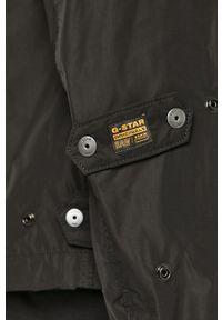 Czarna kurtka G-Star RAW bez kaptura, casualowa, na co dzień