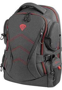 Czarny plecak na laptopa Genesis