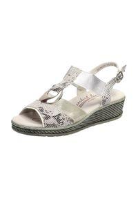 Srebrne sandały Filippo klasyczne