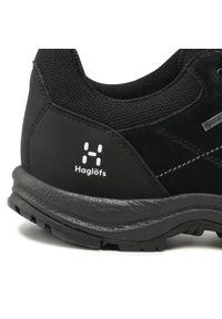 Haglöfs - Trekkingi HAGLÖFS - Krusa Gt Men GORE-TEX 497980 True Black. Kolor: czarny. Materiał: skóra, zamsz, materiał. Szerokość cholewki: normalna. Technologia: Gore-Tex. Sport: turystyka piesza #8
