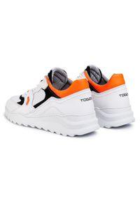 Białe sneakersy Togoshi #7