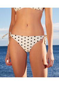 Bresil Spe Wiązane Brazyliany Bikini Od Kostiumu Kąpielowego - Surowy - Etam. Materiał: tkanina. Wzór: nadruk, grochy