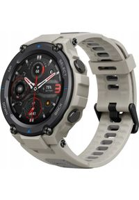 AMAZFIT - Smartwatch Amazfit T-Rex Pro Desert Grey Beżowy (Amazfit T-Rex Pro Desert Grey (Szary)). Rodzaj zegarka: smartwatch. Kolor: wielokolorowy, szary, beżowy