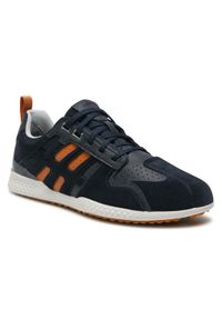 Geox Sneakersy U Snake.2 B U048DB 022FU C0659 Granatowy. Kolor: niebieski