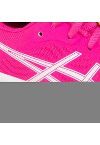 Asics - Buty ASICS - Patriot 12 Gs 1014A139 Pink Glo/White 700. Kolor: różowy. Materiał: skóra ekologiczna, materiał, skóra. Styl: młodzieżowy