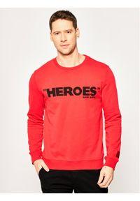Czerwona bluza Hugo