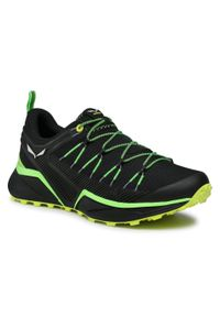 Czarne buty trekkingowe Salewa trekkingowe