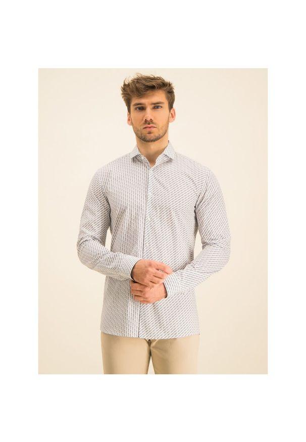Biała koszula casual Hugo