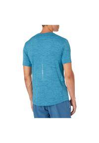 Koszulka męska do biegania Energetics Aino II 411744. Materiał: poliester, materiał, elastan. Długość rękawa: krótki rękaw. Długość: krótkie. Sport: fitness, bieganie