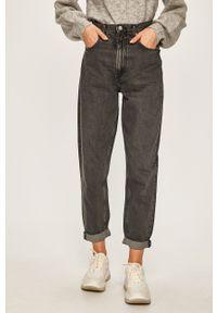 Szare jeansy Pepe Jeans w kolorowe wzory