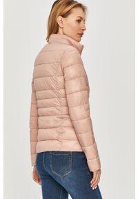 Różowa kurtka Answear Lab na co dzień, bez kaptura, wakacyjna