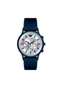Niebieski zegarek Emporio Armani