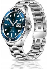 Smartwatch Bakeeley Z69 Srebrny. Rodzaj zegarka: smartwatch. Kolor: srebrny