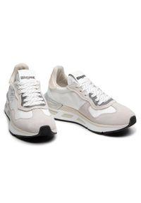 Białe buty sportowe Blauer