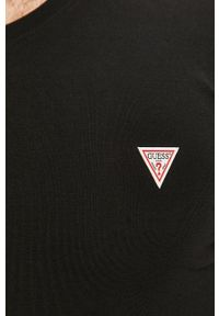 Czarna koszulka z długim rękawem Guess Jeans