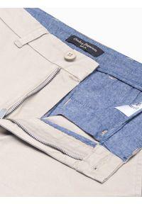 Beżowe szorty Ombre Clothing na lato, krótkie, casualowe, na co dzień #4