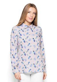 Koszula Katrus w kolorowe wzory