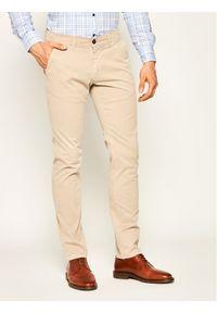 Beżowe spodnie Baldessarini