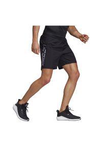 Adidas - Spodenki do biegania adidas Run-It-Shorts FS9814. Materiał: skóra, materiał. Sport: bieganie
