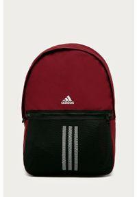 Czerwony plecak adidas Performance z nadrukiem