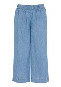 Cellbes Dżinsowe spodnie typu culotte błękitny female niebieski 50/52. Kolor: niebieski. Materiał: tkanina, guma